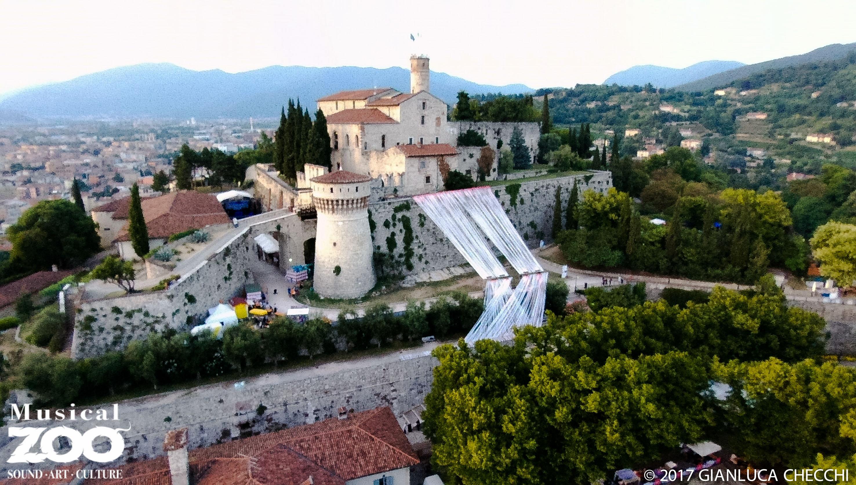 Il Castello di Brescia durante MusicalZoo