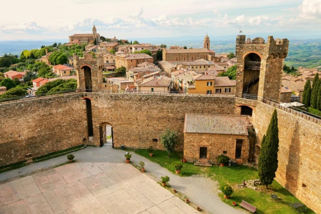 Montalcino e la sua Fortezza.