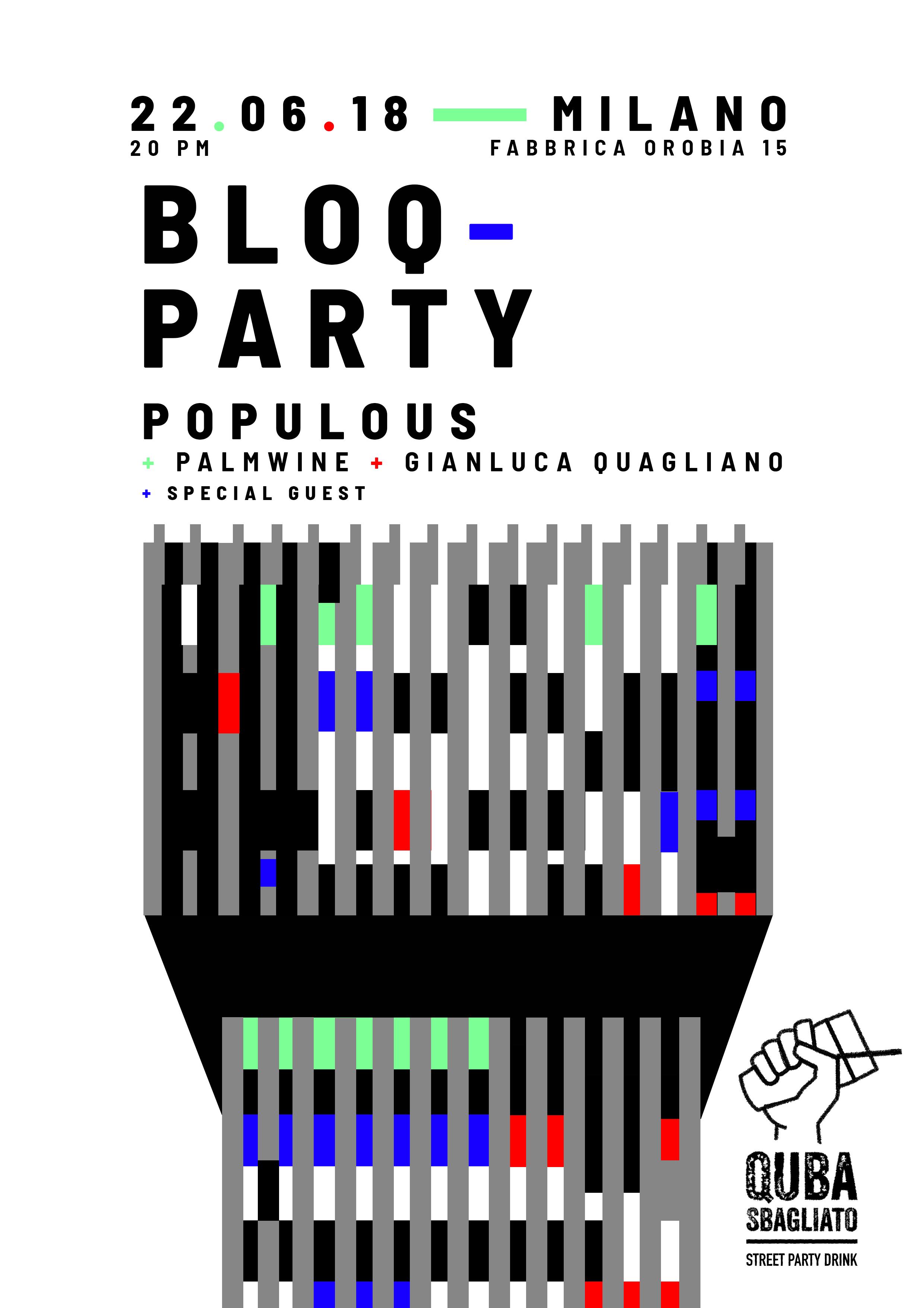 poster-BloqParty-MilanoZERO