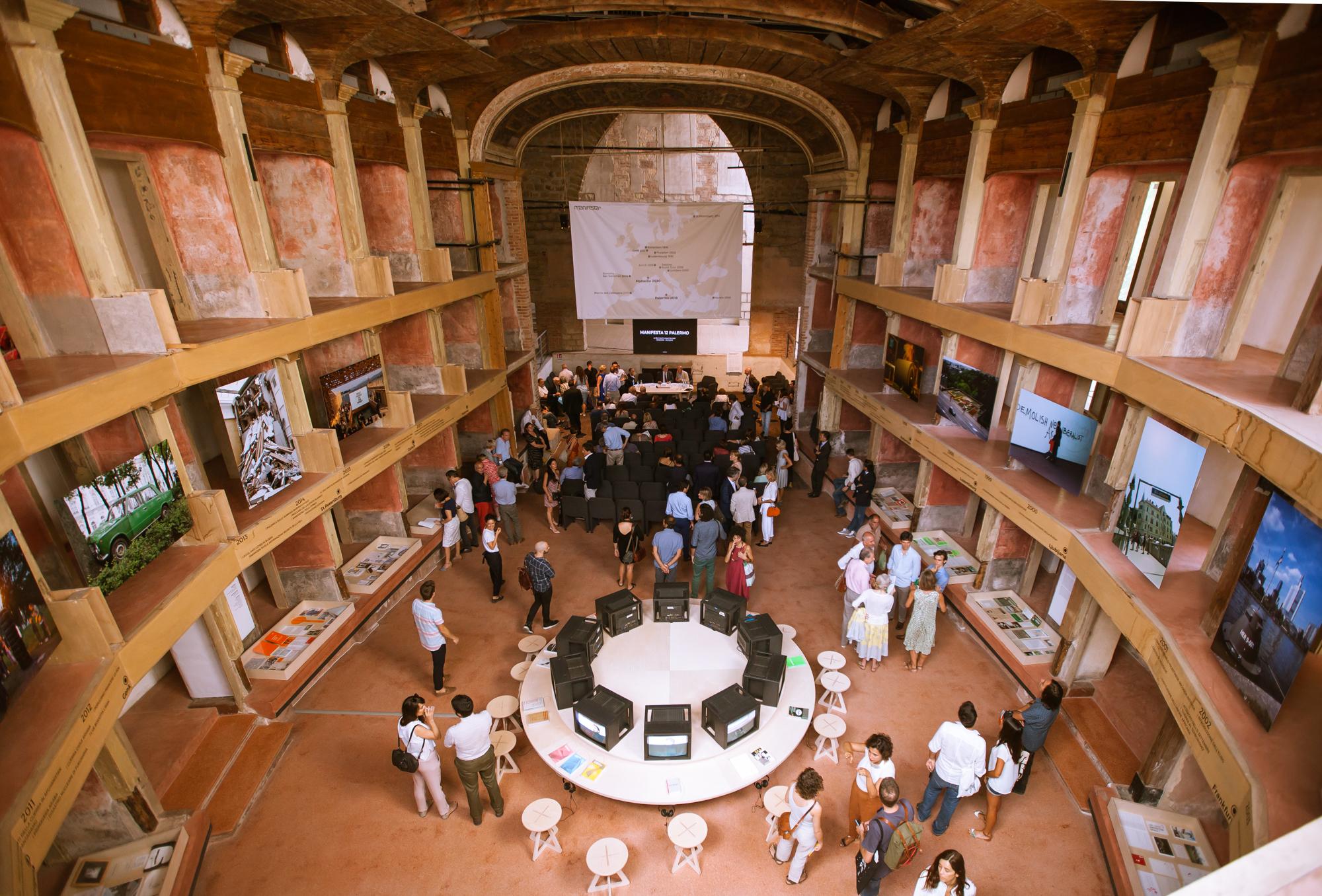 Teatro Garibaldi, photo by Cave Studio