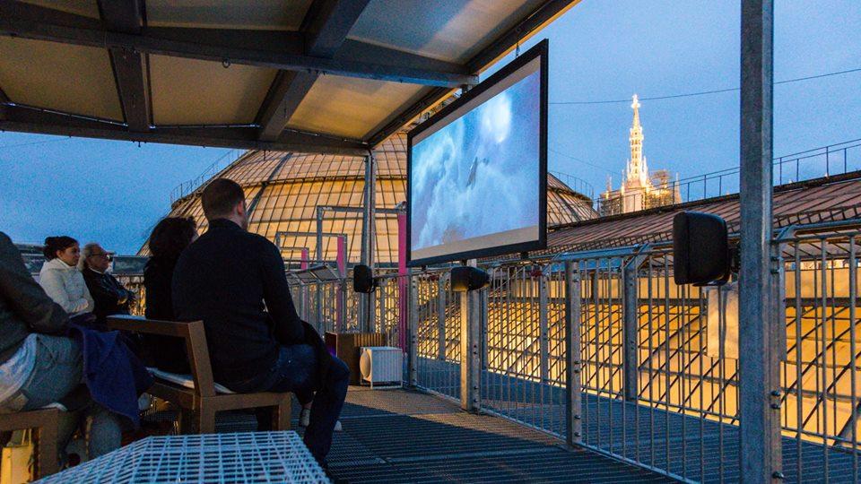 Cinema Sui Tetti Della Galleria Zero