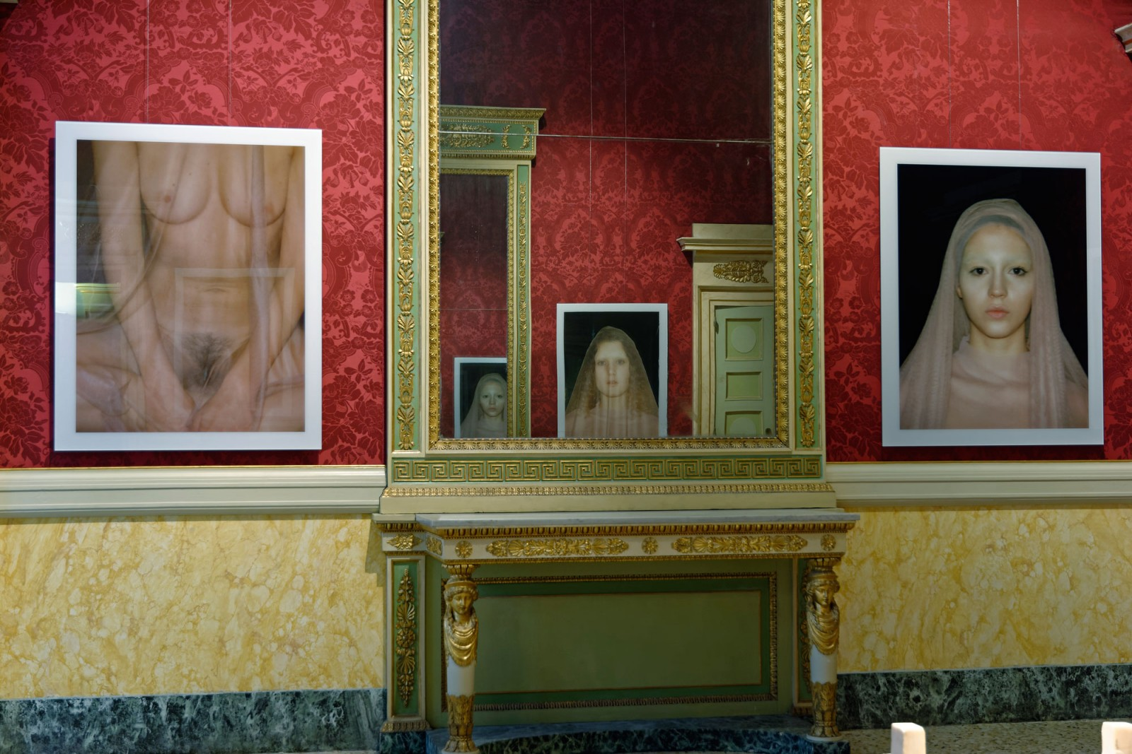 Vanessa Beecroft, Polaroids, 1993.2016