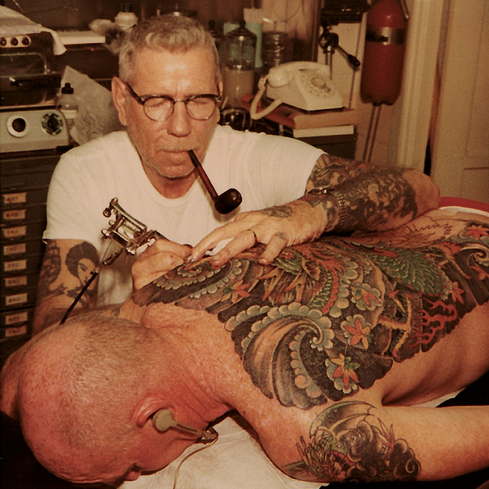Norman Keith Collins aka Sailor Jerry.