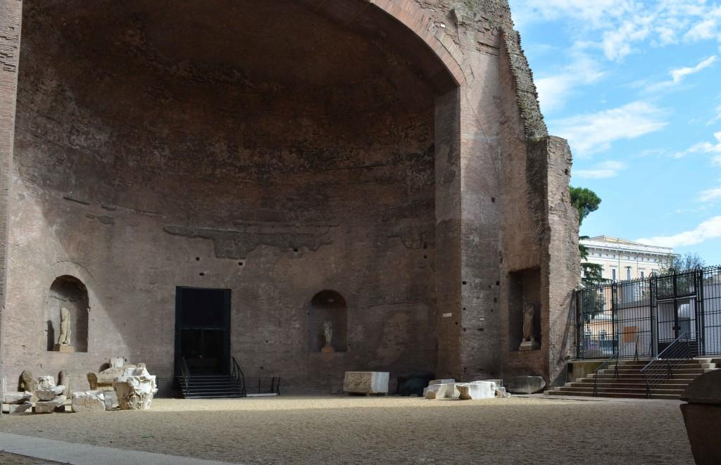 L'Aula IX  delle Terme di Diocleziano.