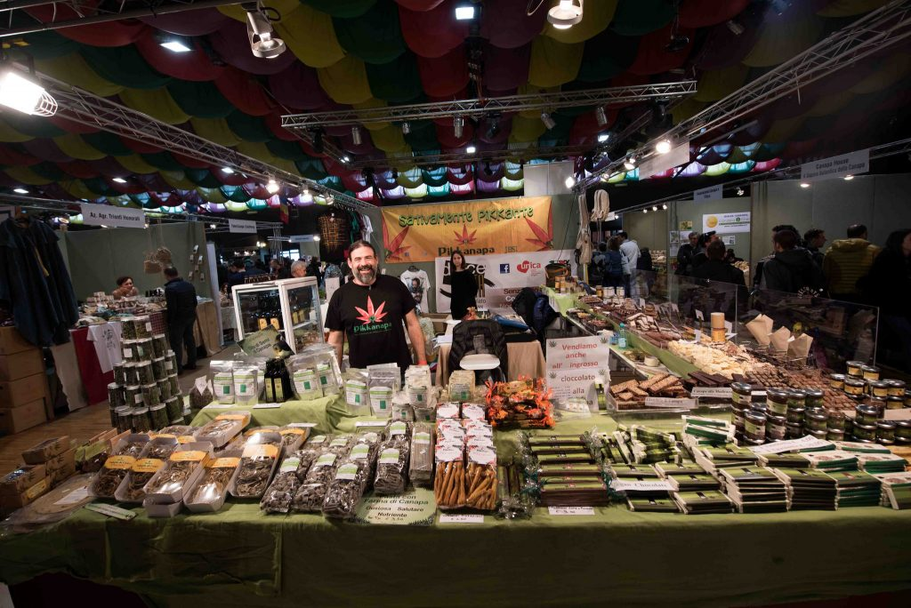 Il market dell'area Hemp industry