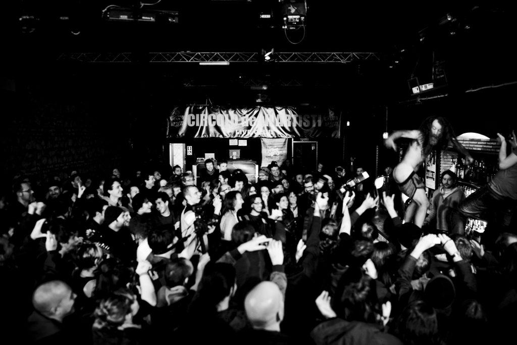 Monotonix, 3/3/2011 (foto di Simone Cecchetti)