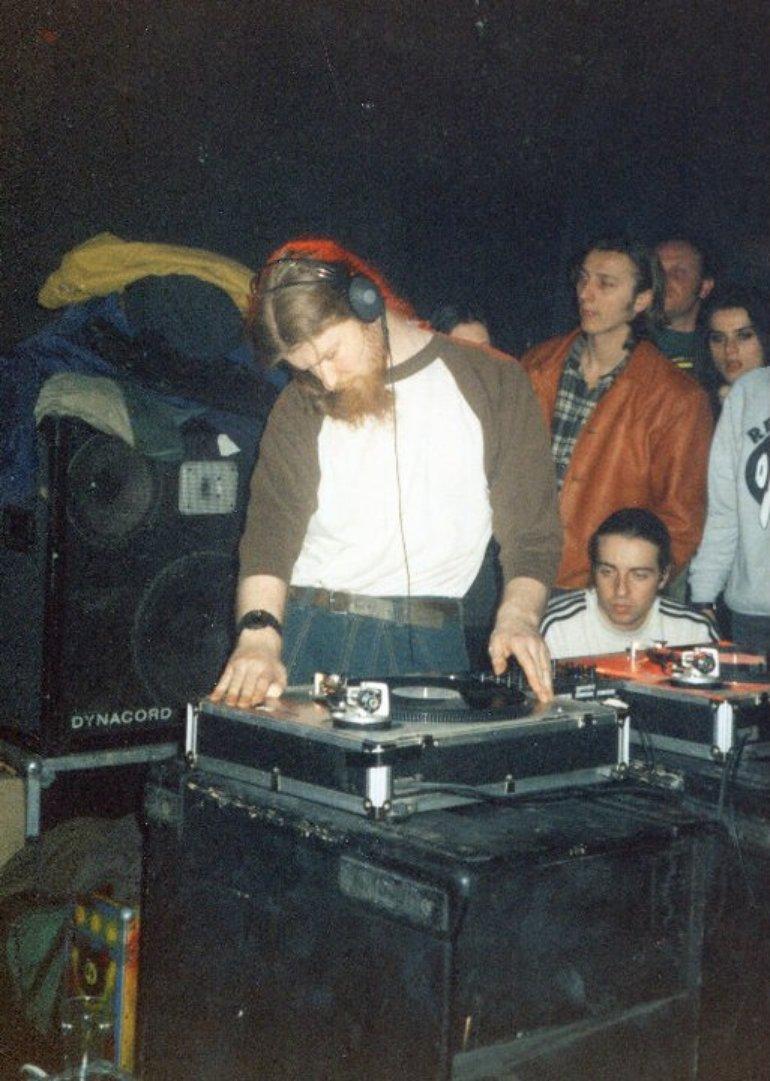 Aphex Twin @ Circolo degli Artisti (Rephlex Night, 1995)