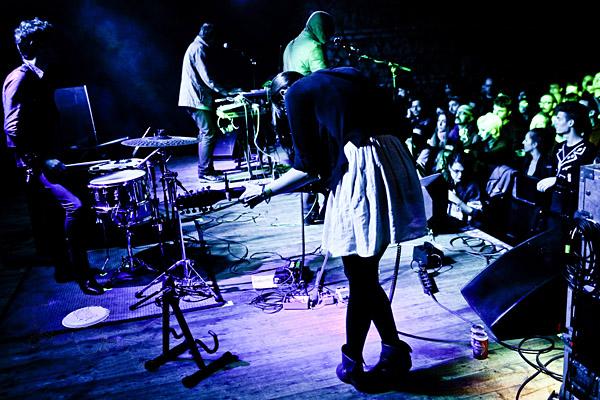 Blank Dogs, 25/10/2010 (foto di Simone Cecchetti)